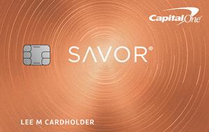 Capital One Savorone Savor